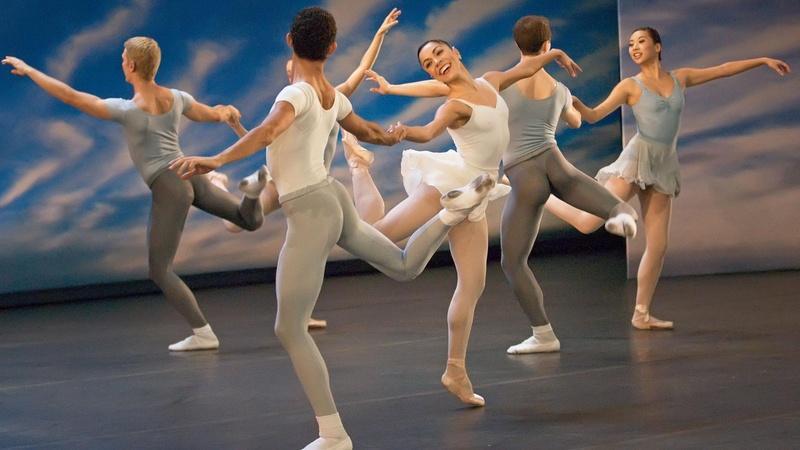 Miami City Ballet Dances Balanchine and Tharp