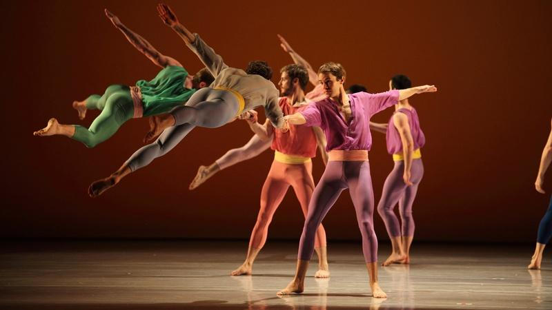 L'Allegro with the Mark Morris Dance Group
