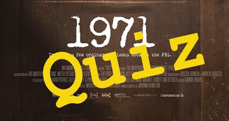 1971: A Pop Quiz