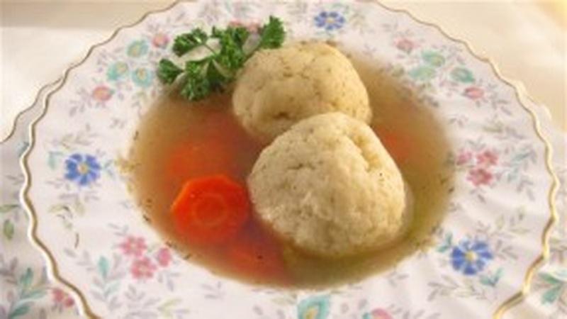 Speedy Quick Matzo Ball Soup