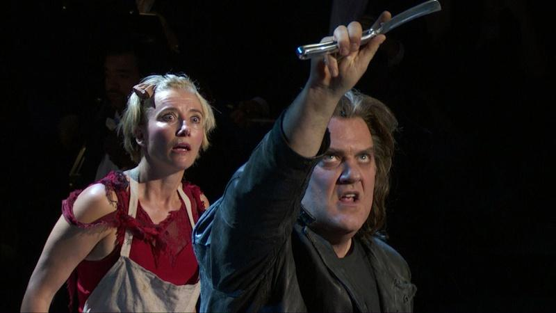 """""""Sweeney Todd"""" in Concert with The New York Philharmonic"""