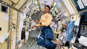 Image of Mae Jemison, First African-American Woman in Space