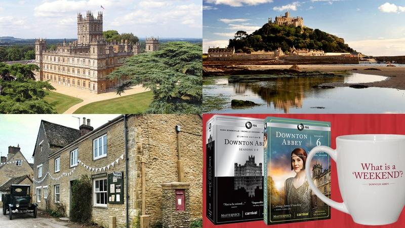 Enter the 2016 Downton Abbey Sweepstakes