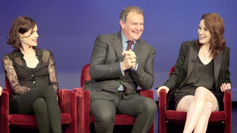 The Downton Abbey Cast Answer Questions at the Season 6 Fan Event in New York