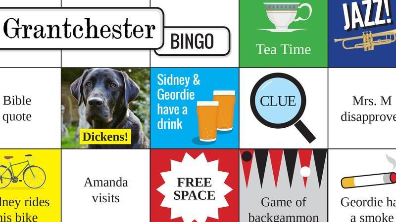 Play Grantchester Season 2 Bingo!