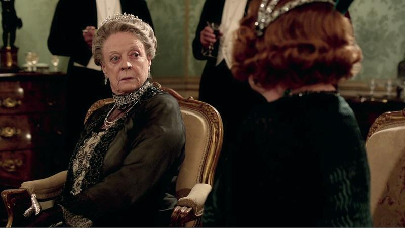 Maggie Smith, Queen of the Double Take