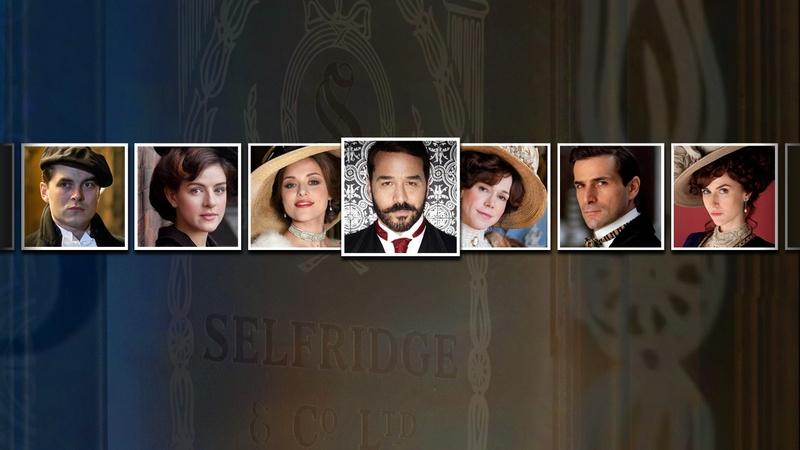 Explore the Characters and Actors of Mr. Selfridge