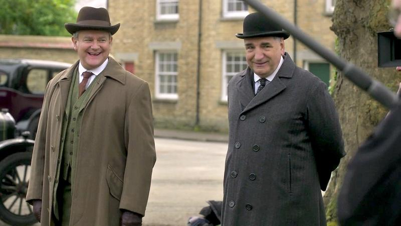 A Scene from The Manners of Downton Abbey: Clothes & Hats