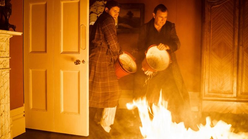 The Making of the Downton Abbey Fire (Episode 1)