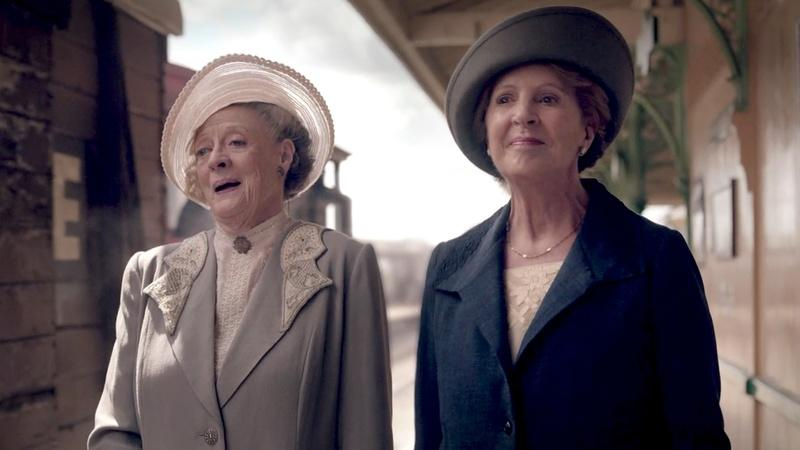 Downton Abbey: A scene from tonight's episode