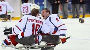 Image of Ice Warriors: USA Sled Hockey Preview