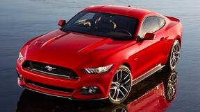 Image of 2015 Ford Mustang & 2015 Lexus RC Sport Coupe
