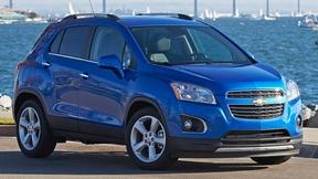 Image of 2015 Chevrolet Trax & 2015 Jaguar F-Type Coupe
