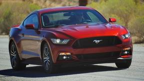 Image of 2015 Ford Mustang GT & 2015 Toyota Camry