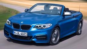 Image of 2015 BMW 2 Series Convertible & 2016 Ford Edge