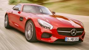 Image of 2016 Merceds-Benz AMG GT S & 2016 Nissan Maxima