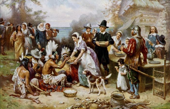 Were pilgrims America's original economic migrants?
