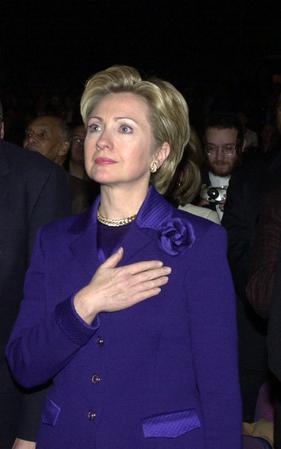 Hillary Clinton's life in the public eye
