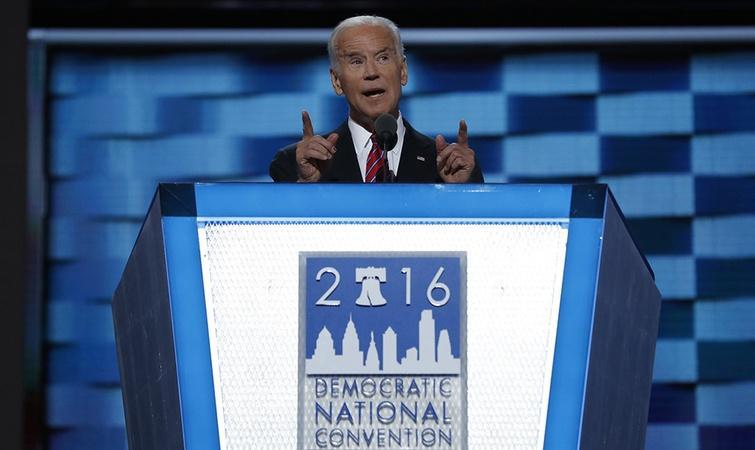 Joe Biden's speech at the DNC