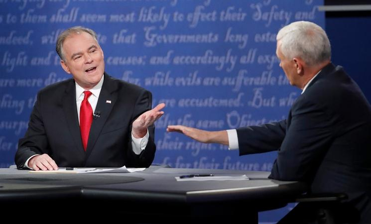 Trump and Clinton campaigns react to the VP debate