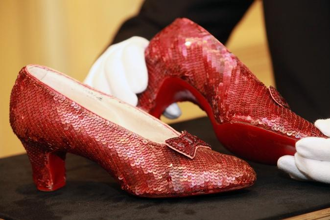 Who's footing the bill to restore the ruby slippers