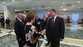 Image of News Wrap: Putin and Poroshenko meet over Ukraine conflict