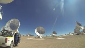 Image of Ascent to ALMA's high site