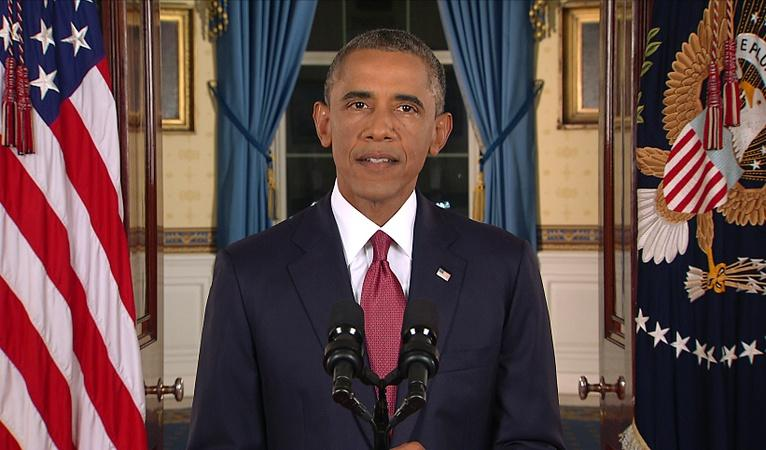 Watch Obama address the nation on the Islamic State group