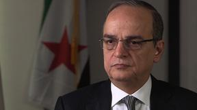 Image of Syrian opposition chief: U.S. assistance against Assad