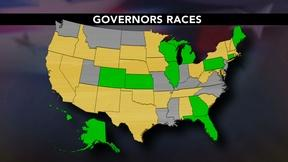 Image of 12 sitting governors at risk of losing in November