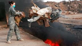 Image of Did military burn pits make soldiers sick?