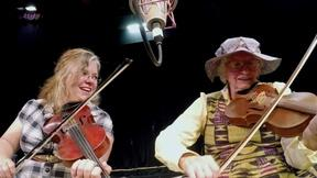 Image of Ozark musicians find friendship through fiddling