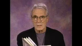 Image of Poet Mark Strand reads 'A Suite Of Appearances: 4'