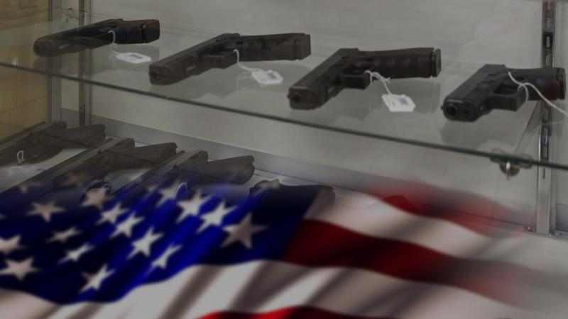 Why has public support for gun control decreased?