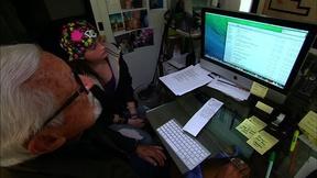Image of Teens and elders bridge generation gap and digital divide