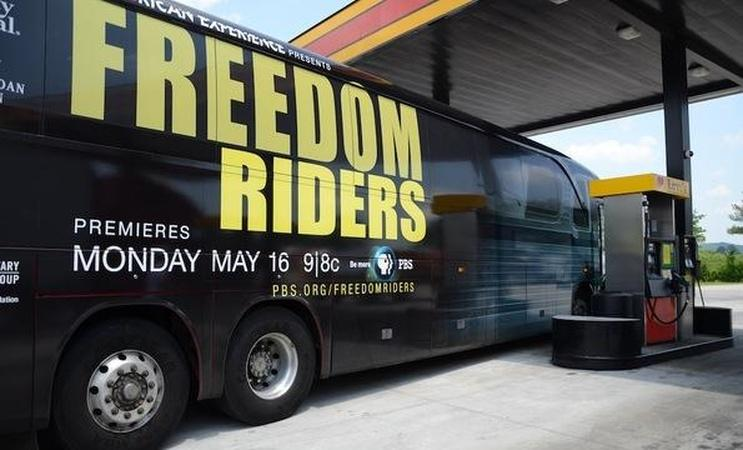 Student Freedom Riders Discuss Civil Rights Movement
