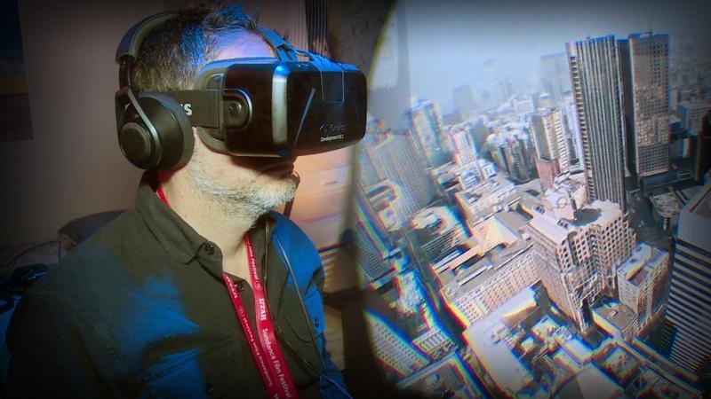 Virtual reality bursts through the movie screen