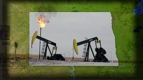 Image of North Dakota's oil boom braces for a winter cooldown