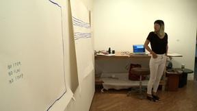Image of Deaf since birth, artist explores the social rules of sound