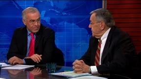 Image of Shields and Brooks on Kochs' near-billion spending plan