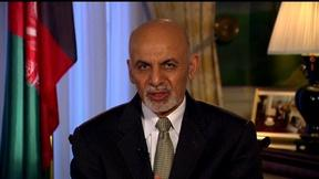 Image of Afghan President Ghani: Partnership with U.S. 'revitalized'