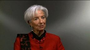 Image of IMF chief Lagarde on Greece, China and the uneven recovery