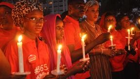 Image of One year later, tributes for missing Nigerian schoolgirls