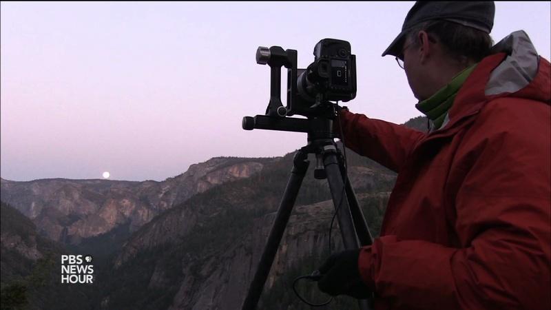 Photographers chase Yosemite's rare moonlight rainbows