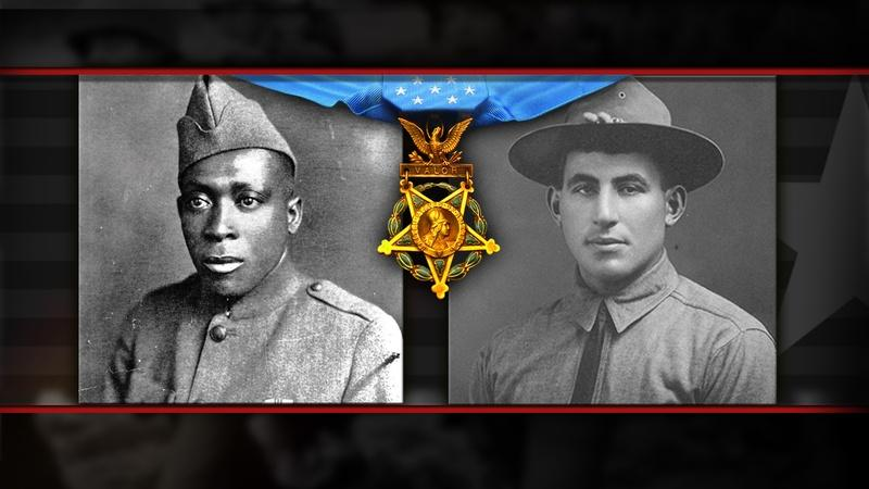 Two WWI soldiers receive Medal of Honor posthumously