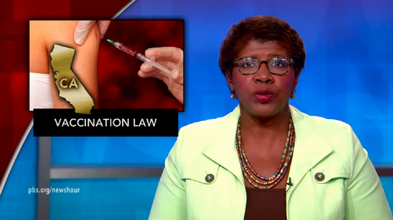 News Wrap: California lawmakers approve vaccination bill