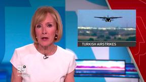 Image of News Wrap: Turkey strikes new round of Kurdish targets