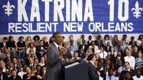 Image of Katrina exposed 'deeper tragedy' of inequality, says Obama