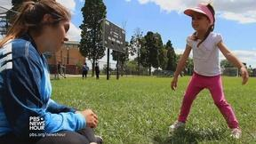 Image of Young and old learn from each other in Detroit's green space