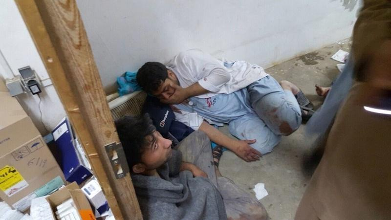 Victims of Afghan hospital bombing describe experience